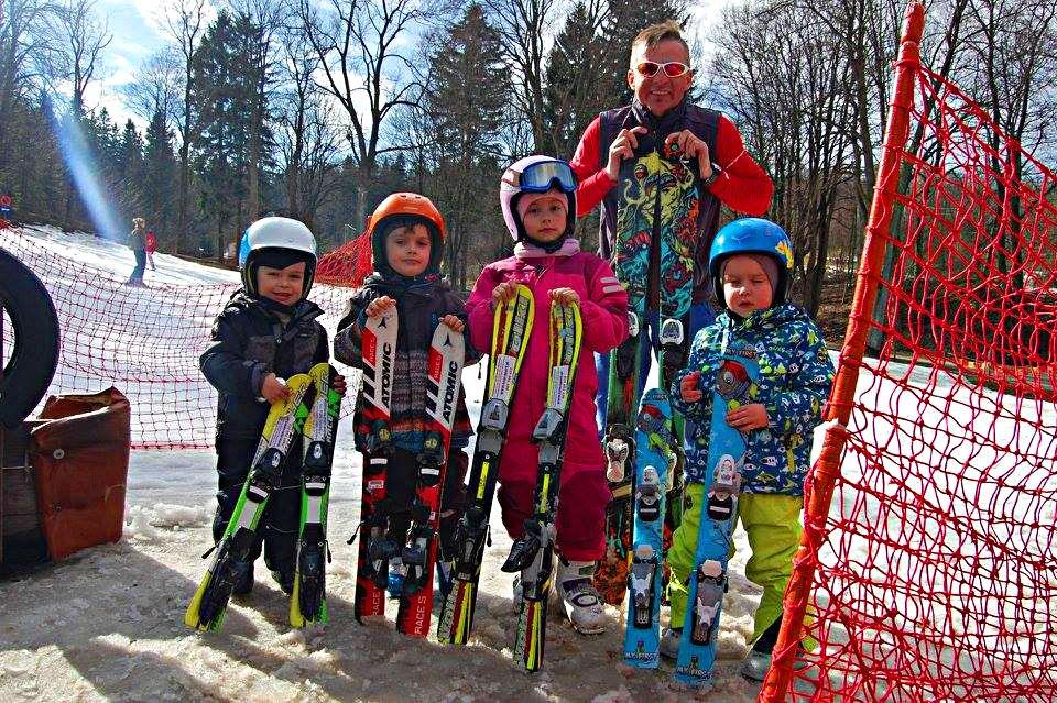 szkoła narciarska dla dzieci
